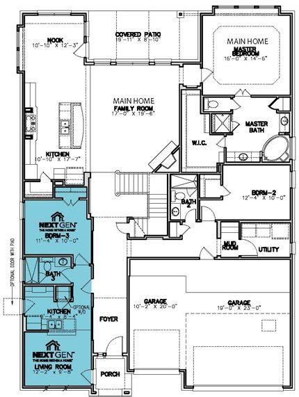 next homes floor plans new home plans design