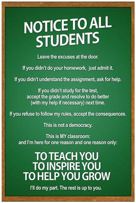 10 Ways To Get A To Notice You At School by High School Classroom Posters