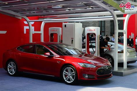 Where Is The Tesla Electric Car Made Tesla Delivers Cars To Customers China Org Cn