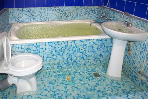 flooded bathroom what to do why you need to know where the water shut off valve is for