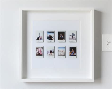 instant photos a and easy instant photo display yellow brick home