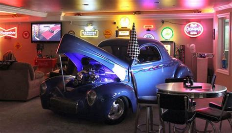 hot rod themes 5 common man cave themes epic man cave