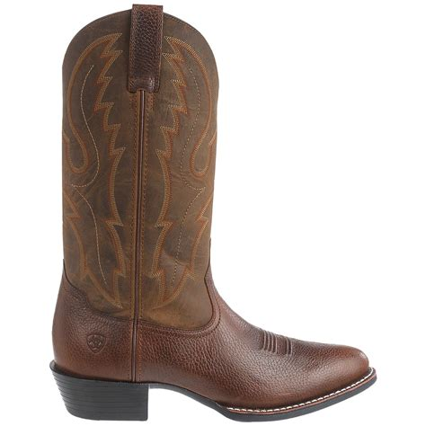 toe cowboy boots for ariat sport r toe cowboy boots for save 33