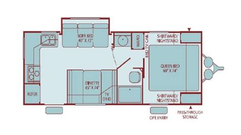 prowler cer floor plans fleetwood prowler for sale new used travel trailers