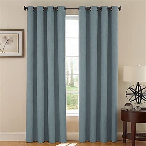 vivianna curtains buy soundasleep vivianna grommet 95 inch room darkening