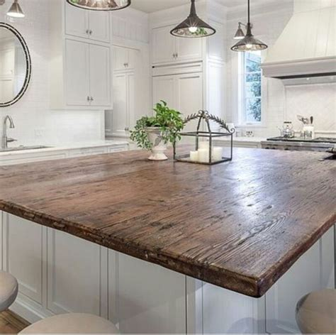 Wood Tops For Kitchen Islands by 25 Best Ideas About Wood Countertops On Pinterest Wood