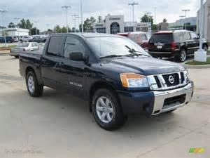 2010 Nissan Titan Se Navy Blue Metallic 2010 Nissan Titan Se Crew Cab Exterior