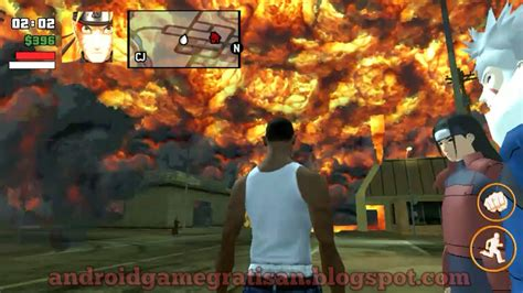download mod naruto game gta sa gta sa mod pack naruto data review dan download game