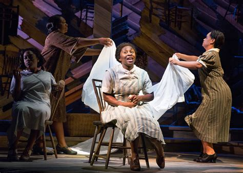 the color purple on broadway review the color purple on broadway stripped to its