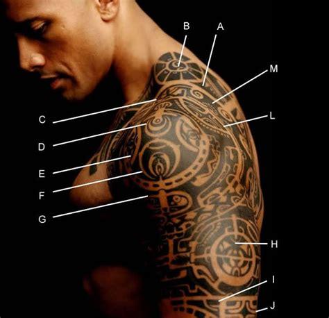 dwayne the rock johnson shoulder tattoo tattoo maori dwayne johnson e o significado the magic