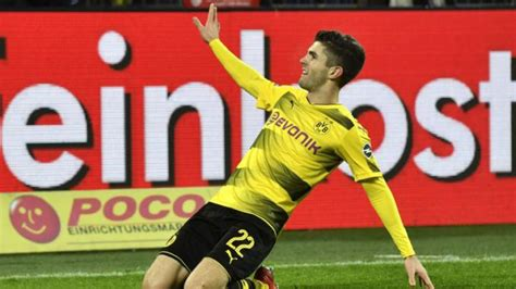 christian pulisic man u bad news for manchester united as 163 88m wonderkid plays