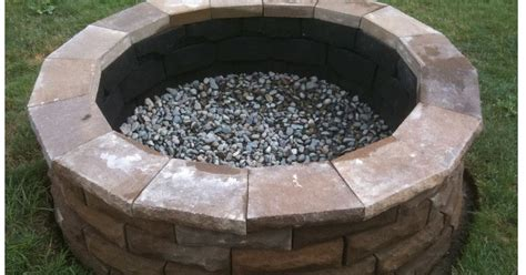How To Build An Outdoor Fireplace Casual Cottage Backyard Fire Pit Casual Cottage