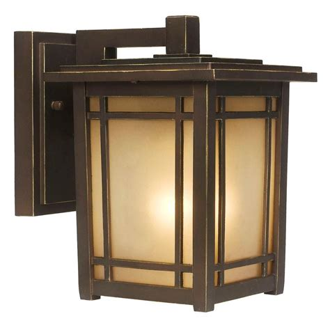 hton bay port oxford wall mount 1 light outdoor lantern