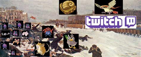 2014 A Twitch Odyssey Twitch Plays Pokemon Know Your Meme - twitch plays pokemon bloody sunday february 23 by