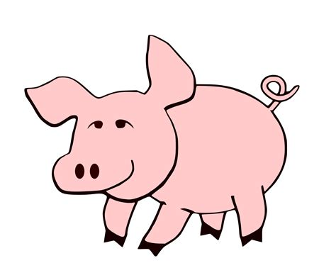 clipart pig pig clip art images free download