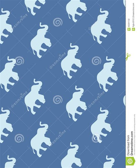 pattern elephant background seamless elephant pattern stock vector illustration of