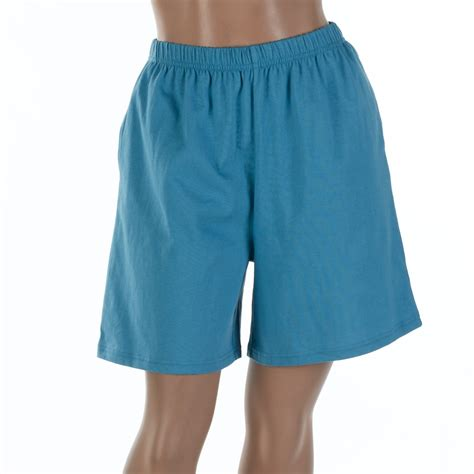 cotton knit shorts basic editions s 100 cotton knit pull on shorts