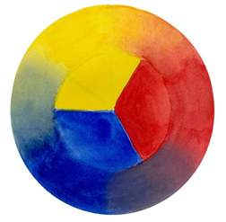 What Colors Make Yellow red yellow blue color wheel john muir laws