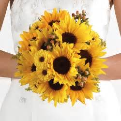 sunflower wedding bouquet anointed creations wedding and event planning sunflower themed weddings