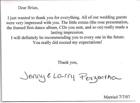 wedding thank you note sle money monetary gift thank you wording wedding lamoureph