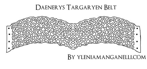 pattern for qarth dress daenerys targaryen belt pattern qarth dress tutorial and