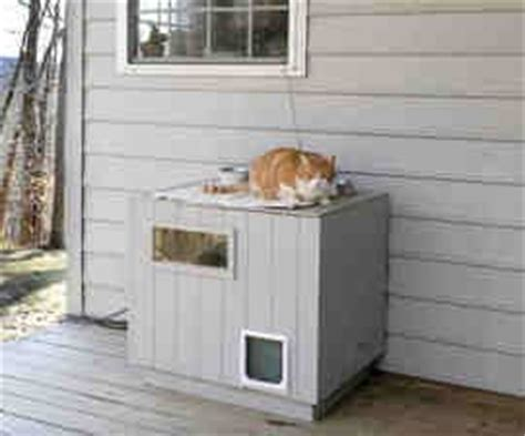winter cat houses images  pinterest outdoor