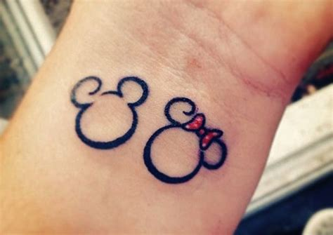 mickey tattoo mickey minnie mouse disney