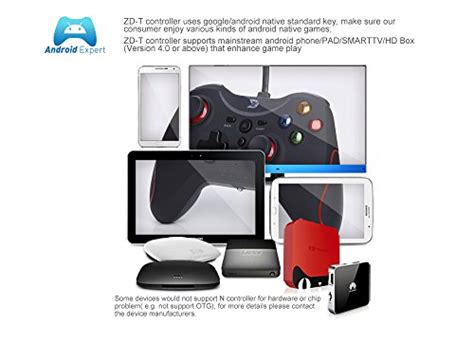 zd t wired gaming controller for pc playstation 3