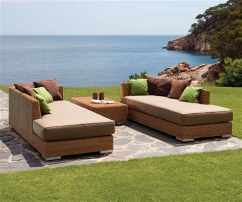 rattan liegen outdoor point now at space furniture indesignlive singapore