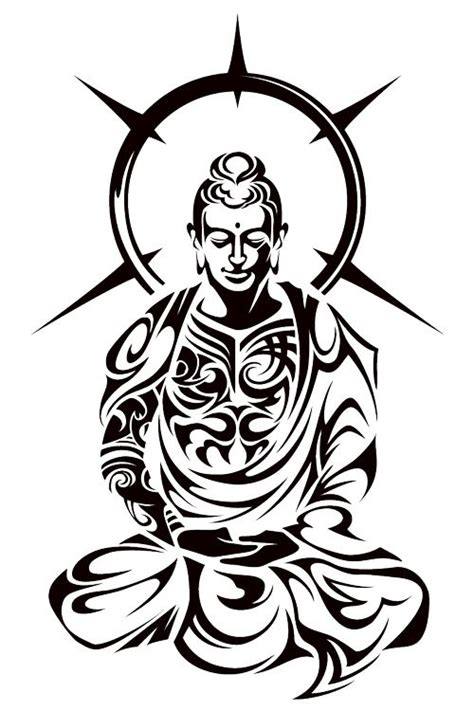 tribal buddha tattoo buddha tribal by takihisa deviantart on deviantart