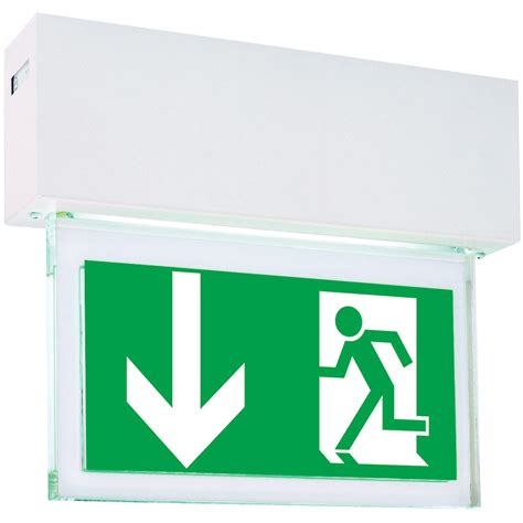 self contained exit light self contained brillant 1984 led cgline self contained