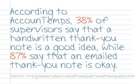 thank you letter after email or handwritten should you send a handwritten thank you note after a