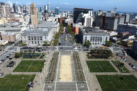 san francisco map civic center san francisco now accepting bids to redesign unwelcoming