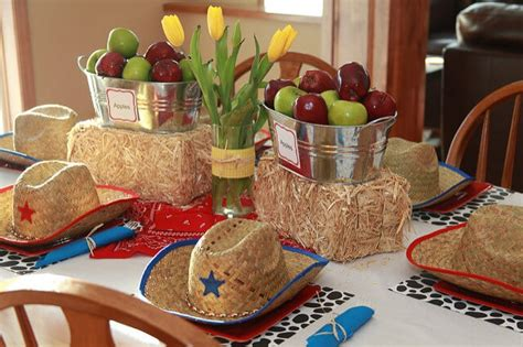 western theme decorations ideas western cowboy boot centerpieces themed table decorations