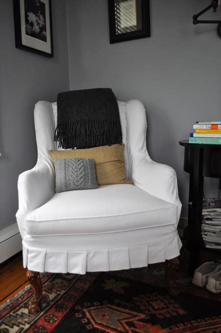 white slipcovers for wingback chairs white wingback chair slipcover home furniture design