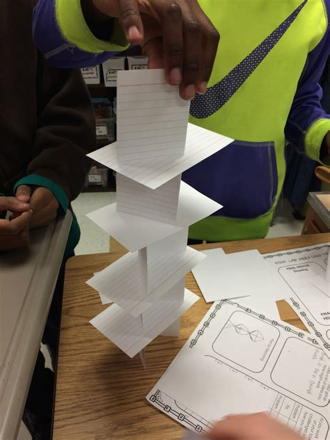 how to make a card tower mrs mcgee s world