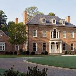 federal style house federal style colonial homes bricks