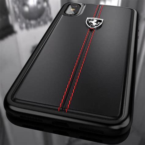 ferrari apple iphone  vertical contrasted stripe
