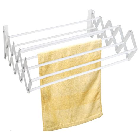 Wall Mounted Fold Drying Rack by Indoor Folding Wall Mounted Extendible Dryer Rack Dryer