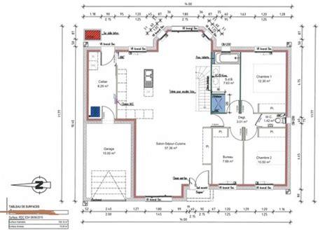 Plan De Maison 4 Chambres 3657 by Besoin De Conseil Pour Plan Maison