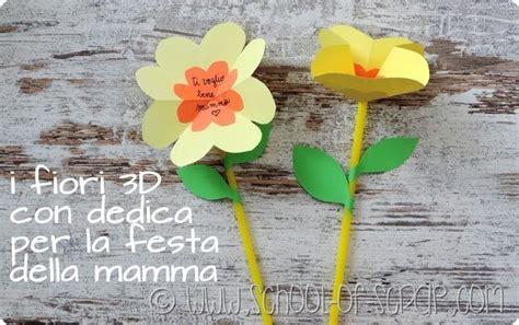 fiore fai da te tutorial fiori fai da te per la festa della mamma