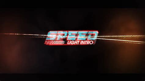 speed light logo intro after effects templates motion
