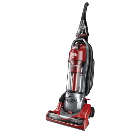 to vacuum dirt devil total power cyclonic bagless upright vacuum
