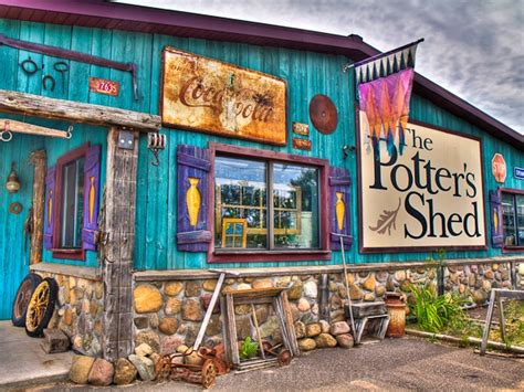 Potters Shed by Where To Eat City Of Shell Lake