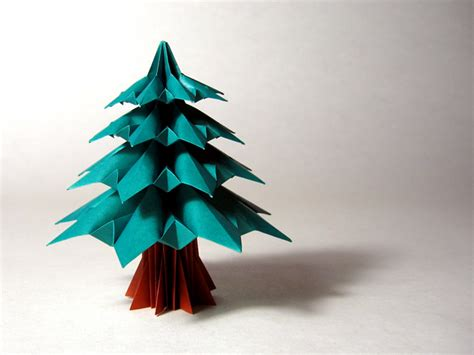 folding a fir tree fir tree francesco guarnieri happy folding