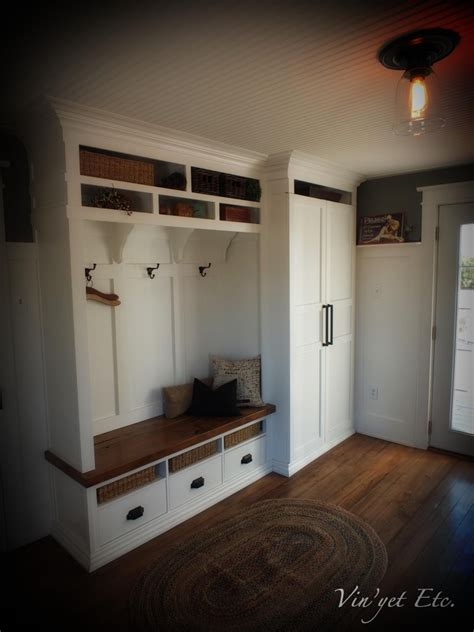 mud room pantry combo bottom drawers wold be cubbies only