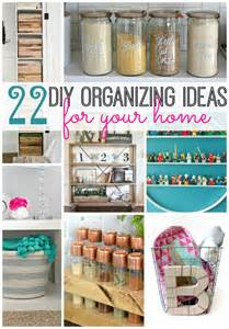 Diy Home Organization by 22 Diy Organizing Ideas For Your Home Tatertots And Jello
