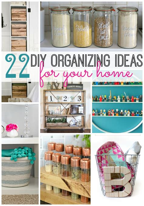 diy home organization 22 diy organizing ideas for your home tatertots and jello