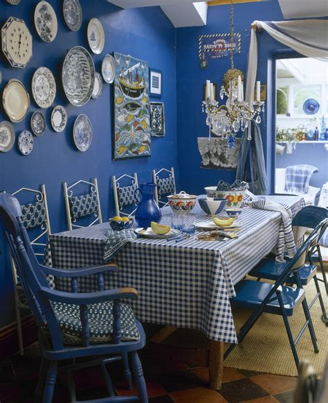 Blue Dining Room Decor by Blue Country Dining Room Dining Room Decorating Ideas