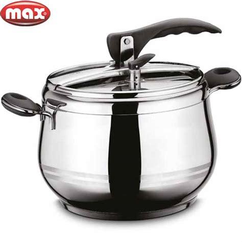 pentola per cucinare a vapore pentola a pressione 5 litri chiusura emetica in acciaio